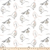 Bird Toile Blush