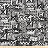 Glyphics Ink Slub Canvas