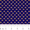Fabric Finders Purple Gold Mini Paw