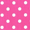 Polka Dot Candy Pink White