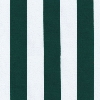 Canopy Stripe Hunter Green Outdoor