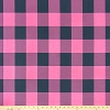 Buffalo Check Polish Pink Deep Navy
