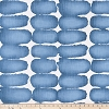 Shibori Dot Sky Blue Slub Canvas