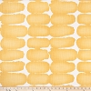 Shibori Dot Brazilian Yellow Slub Canvas