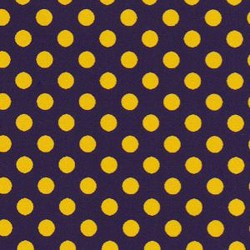 Gold Purple Polka Dot 2275
