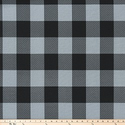 Buffalo Check Ash Black