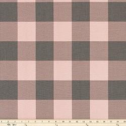 Premier Prints Buffalo Check Blush Pink