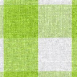 Bright Lime Gingham 1""