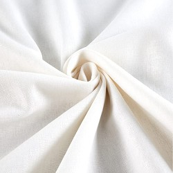 Brussels Washer Linen Blend White
