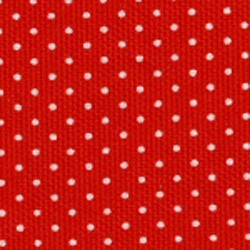 Christmas Red White Polka Dot