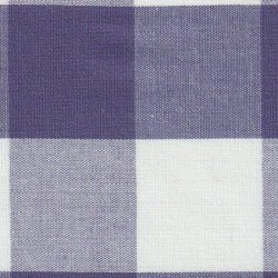 Grape Purple White Gingham 1""