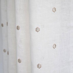 Lania Embroidery Coconut