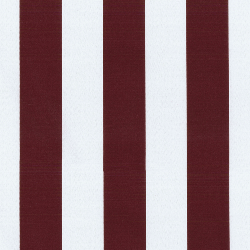 Canopy Stripe Claret Outdoor