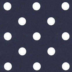 Polka Dot Blue White