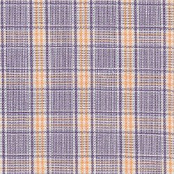 Fabric Finders Purple Gold White Plaid