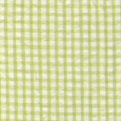 Green Gingham Seersucker
